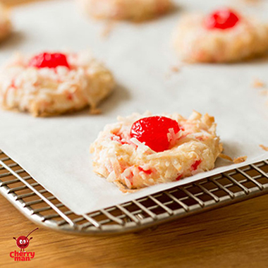 Cherryman Coco Cookies Maraschino Cherry And Coconut Cookie Recipe